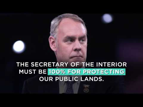 Oppose Zinke for Secretary of the Interior