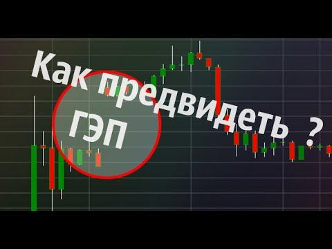 Как предвидеть разрыв цены ? Форекс ГЭП в понедельник