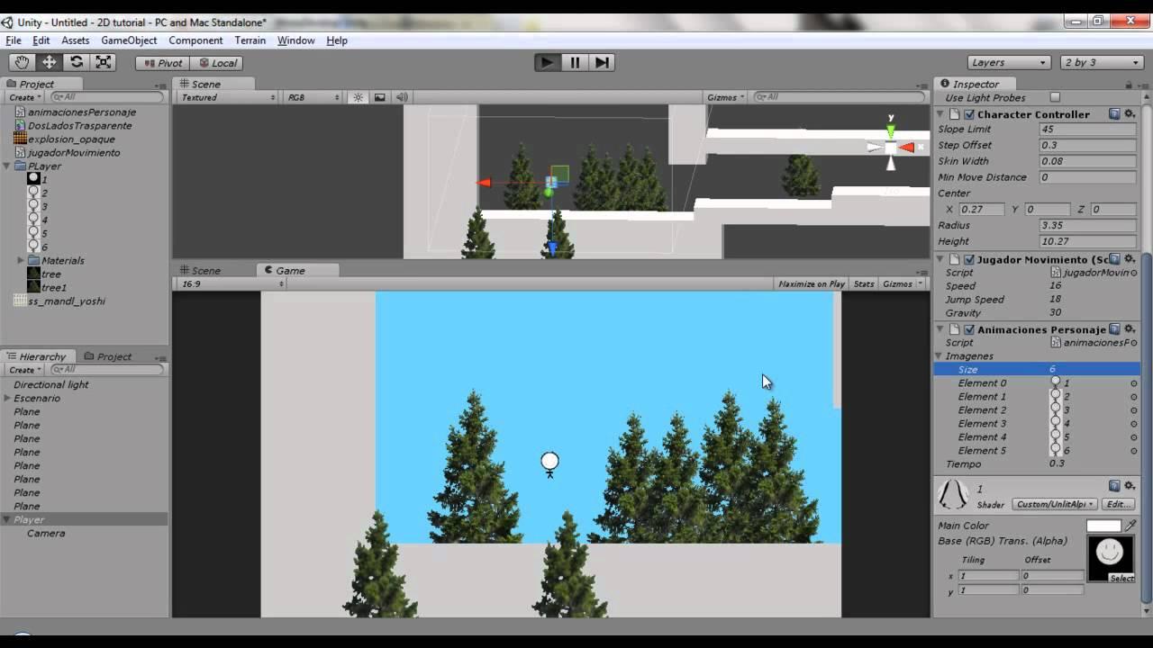 Juego 2d En Unity Parte 2 Pulir Animaciones Youtube