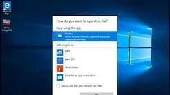 Restore the Windows Photo Viewer on Windows 10