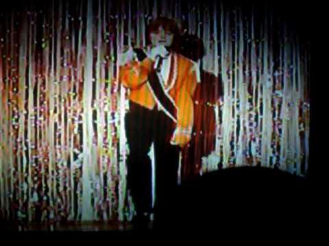 Jason Welsh at hedke talent show