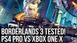 Borderlands 3 Tech Analysis: PS4 Pro vs Xbox One X Graphics Comparison!