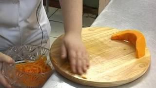 Пост. Салат из тыквы. Православная кухня.