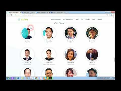 Aenco - первый в мире блокчейн на основе медицинских финансовых решений
