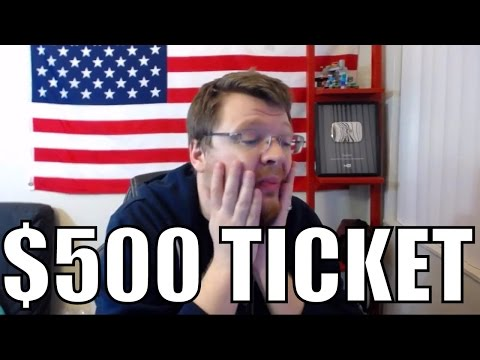 $500 red light turn ticket in California