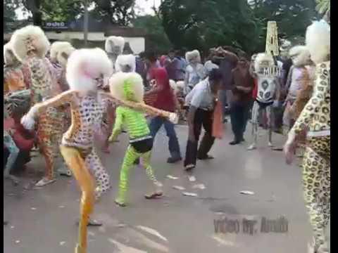 Mangalore Dasara 2010 - Pili Vesha (Tiger Dance)