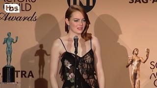 Emma Stone: Press Room Q&A | 23rd Annual SAG Awards | TBS