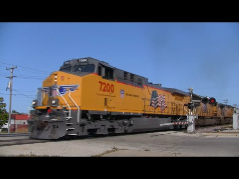 Union Pacific Freight Train - 55th Street