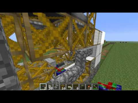 minecraft machine frame