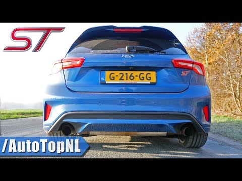 2020 Ford Focus ST MK4   Exhaust SOUND Revs & ONBOARD By AutoTopNL