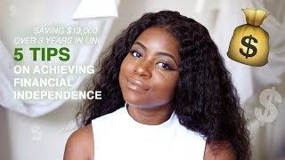 Tips For Ng Money And Achieving Financial Independence While Young
