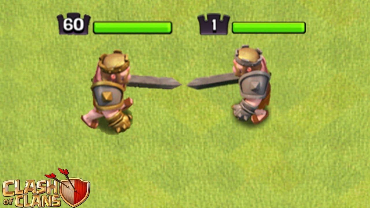 Barbarenkonig Level  Gegen Level   E   Clash Of Clans  E   Coc