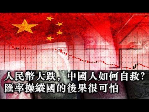 夏业良:人民币大跌,中国人如何自救?汇率操纵国的后果很可怕