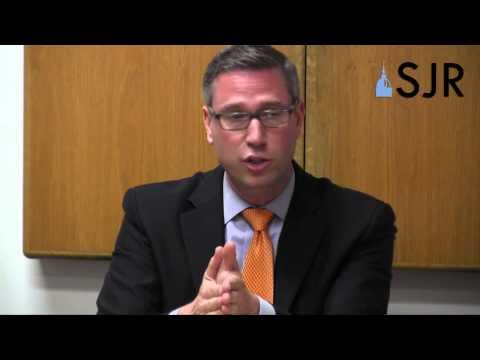 Mike Frerichs, Democratic candidate for Illinois treasurer, SJ-R editorial board, September 2014