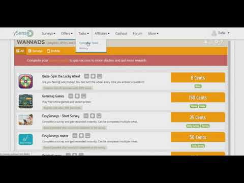 BEST YSENSE (CLIXSENSE) PROFILE COMPLETION FOR ALL SURVEY QUALIFICATION - YouTube