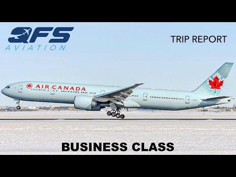TRIP REPORT | Air Canada - 777 300ER - Toronto (YYZ) To Calgary (YYC) | Business Class