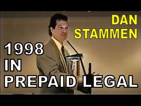 Stammen Breakout in Prepaid Legal Breakout Training Maryland 1998