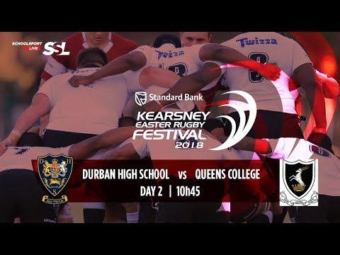 KERF - Durban High School XV vs Queen's College XV, 31 March 2018
