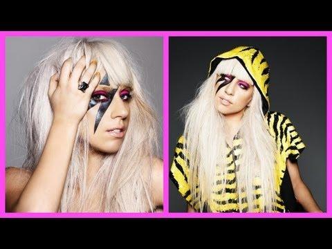 Lady Gaga Hair Tutorial with Adelaine