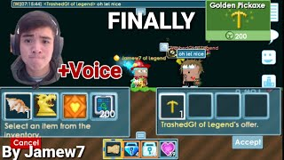 """Selling My Expensive Items"" & FOR BUYING My DREAM Item! + (VOICE) RIP DLS! OMG!! - Growtopia"