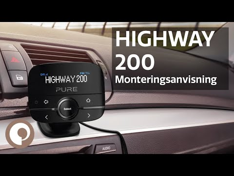 Pure Highway 200 - Monteringsanvisning (Norsk)