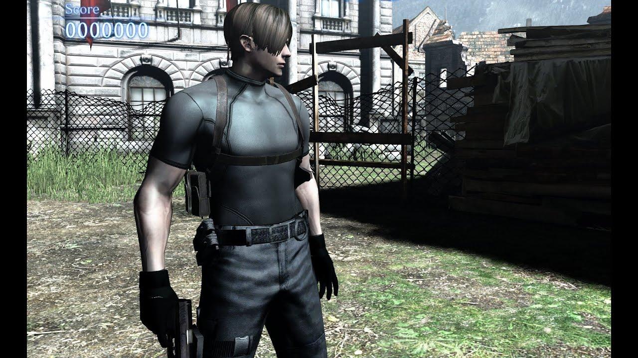 Resident Evil 4 Mod Showcase   Leon W/ Jacket: Remastered