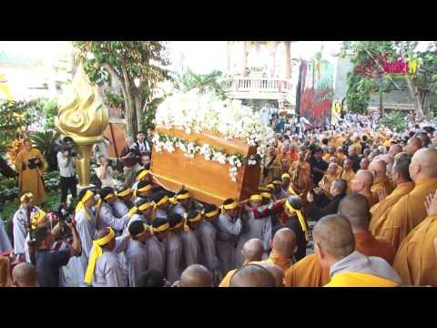 Lễ Tang HT Thích Trí Tịnh - Nhập Bảo Tháp