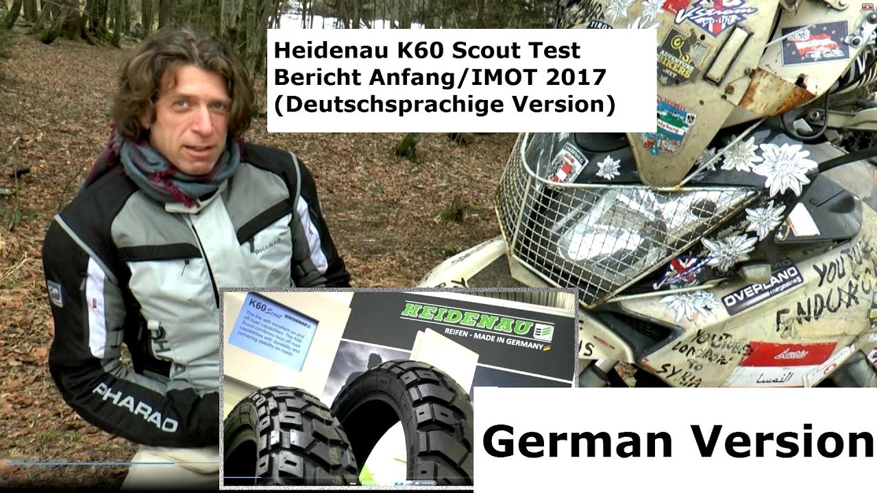 imot 2017 heidenau k60 scout test anfang bericht german. Black Bedroom Furniture Sets. Home Design Ideas