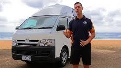 Campervans & Cars For Sale | Hitop Campervan | Travellers Autobarn