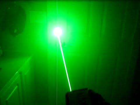DIY: How to Build a Burning Laser Without any Soldering!