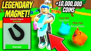 I BOUGHT THE MOST EXPENSIVE MAGNET IN MAGNET SIMULATOR!! *SUPER OP* (Roblox)
