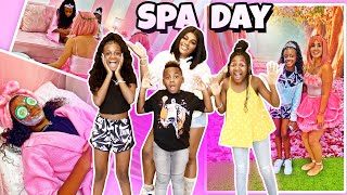 WE SURPRISED YAYA AND KARISSA WITH A SPA DAY