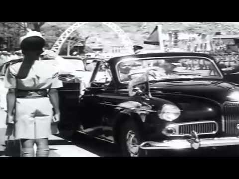 Queen Elizabeth Visits Aden, Yemen