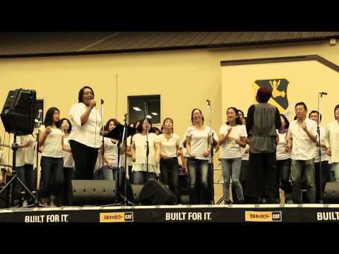 japanese-american friendship festival,yokota air base,2014 gospel