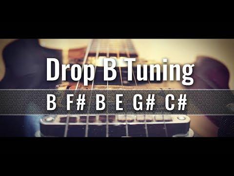 Drop B Guitar Tuner (BF#BEG#C#)