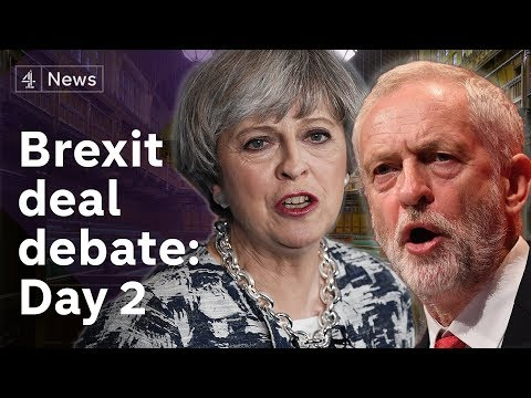 PMQs + Brexit deal debate LIVE: Day  2
