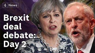 PMQs + Brexit deal debate LIVE: Day  2