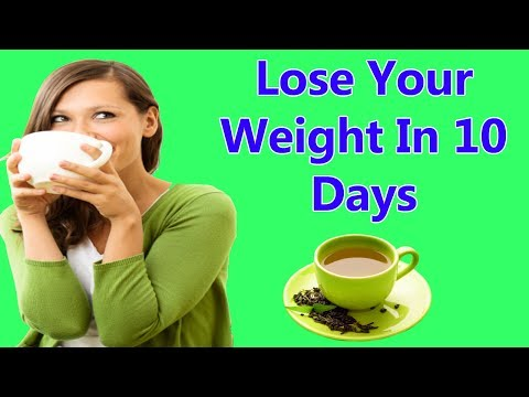 Lose Your Weight Naturally In 10 Days – Best Remedy For Weight Loss