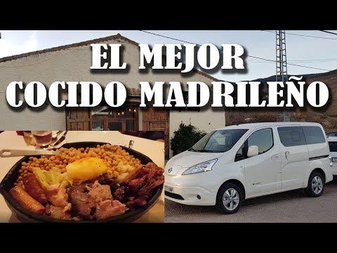Cocido Madrileño con la Nissan eNV200 en la Sierra de Madrid