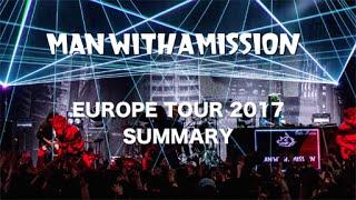 MAN WITH A MISSION ヨーロッパツアーの各国でオオカミさん好きのYoutub...