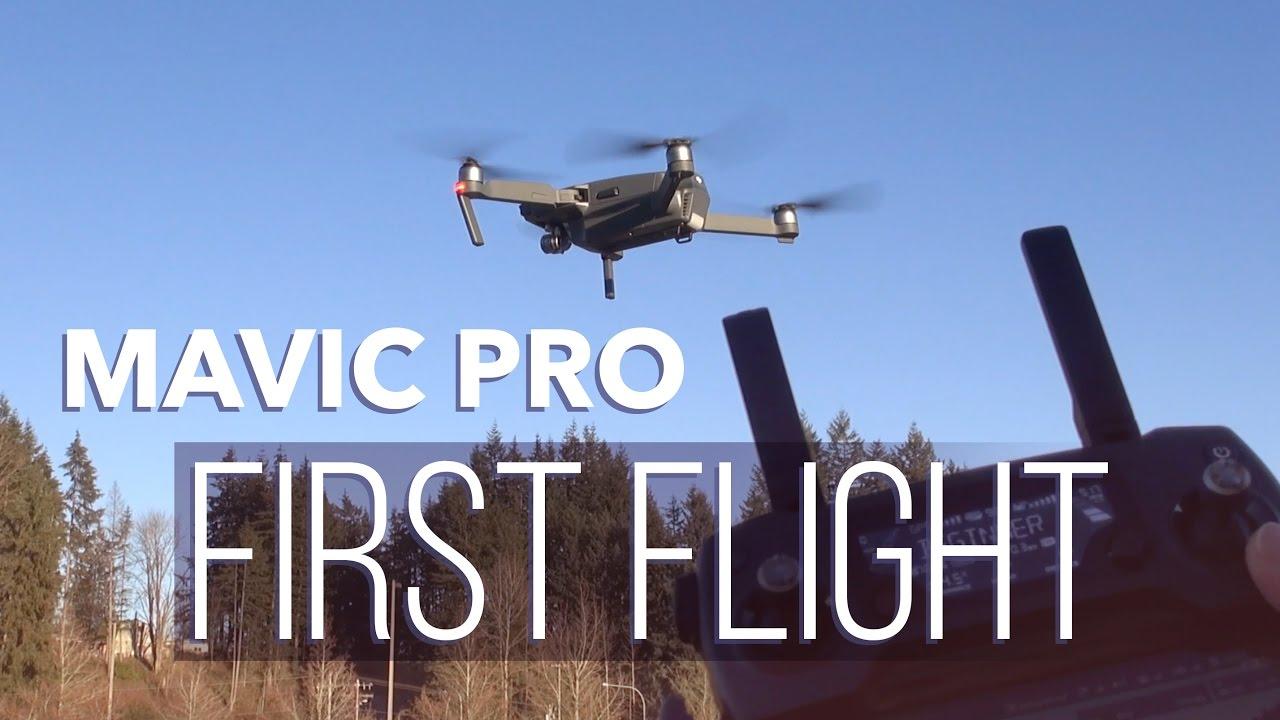 DJI Mavic Pro: Set Up & First Flight!