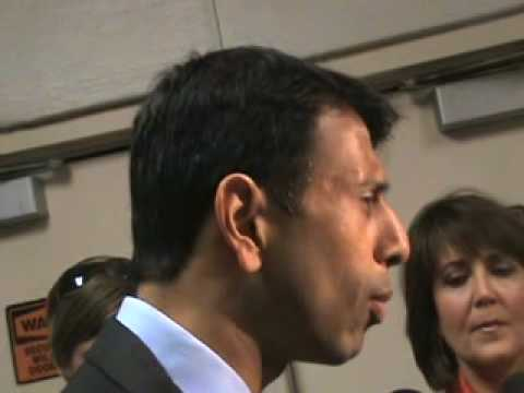 Louisiana Gov. Jindal Concerned About Obama Healthcare Bill In Congress