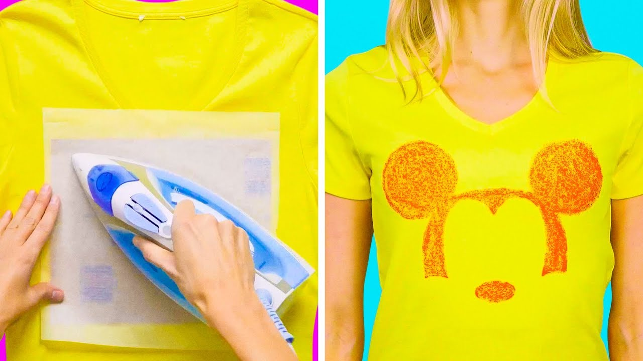 c04e1c0e4fb6 23 ADORABLE HACKS FOR YOUR OLD T-SHIRTS - YouTube