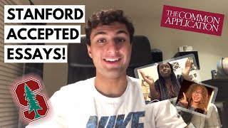 19 ACCEPTED STANFORD COMMON APP ESSAYS!