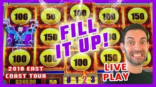 🎥Live Play 🔥 FILL IT UP in 🏙️ ATLANTIC CITY! 🎰🌐EAST COAST TOUR ✦ BCSlots
