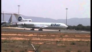 TUPOLEV-154-NYAKOBO IL-96-DOMODEDOVO IL-62-VIM AIRLINES