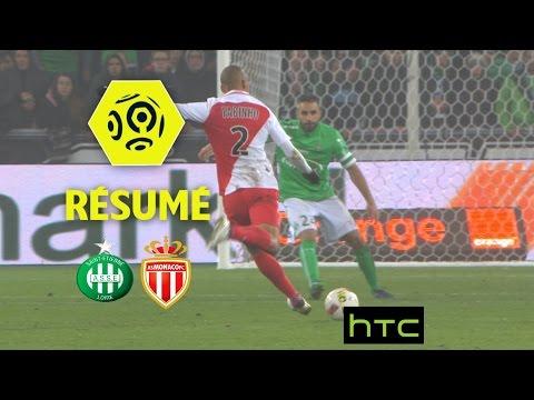 AS Saint-Etienne - AS Monaco (1-1)  - Résumé - (ASSE - ASM) / 2016-17