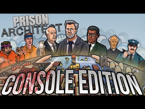Prison Architect - Riots, Death and Fun Oh My! - Prison Architect PS4 / Xbox 1 Edition Gameplay