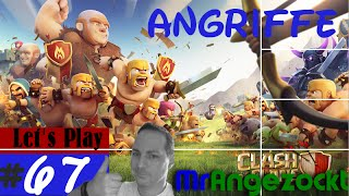 Let's Play Clash of Clans #67 - Angriffe der Clan-Member! - COC [Android, HD+, deutsch]