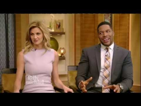JAKE GYLLENHAAL Interview Live with Kelly and Michael